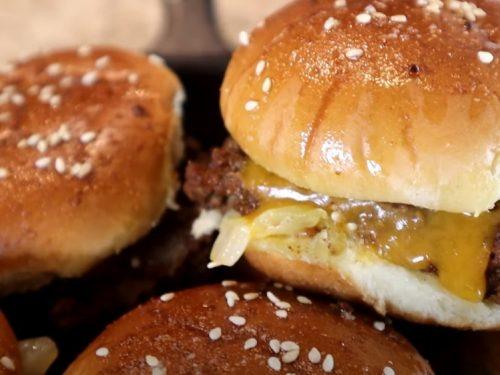 juicy cheeseburger sliders recipe