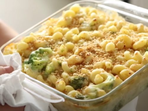 lighter baked macaroni and cheese recipe