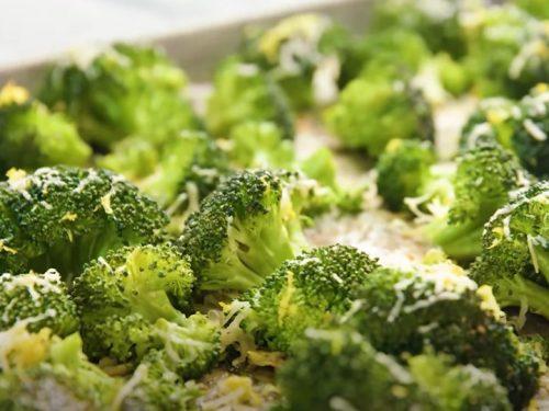 oven roasted lemon parmesan broccoli recipe