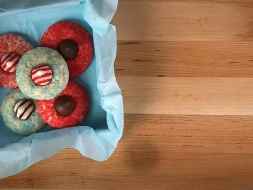 holiday blossom cookies recipe