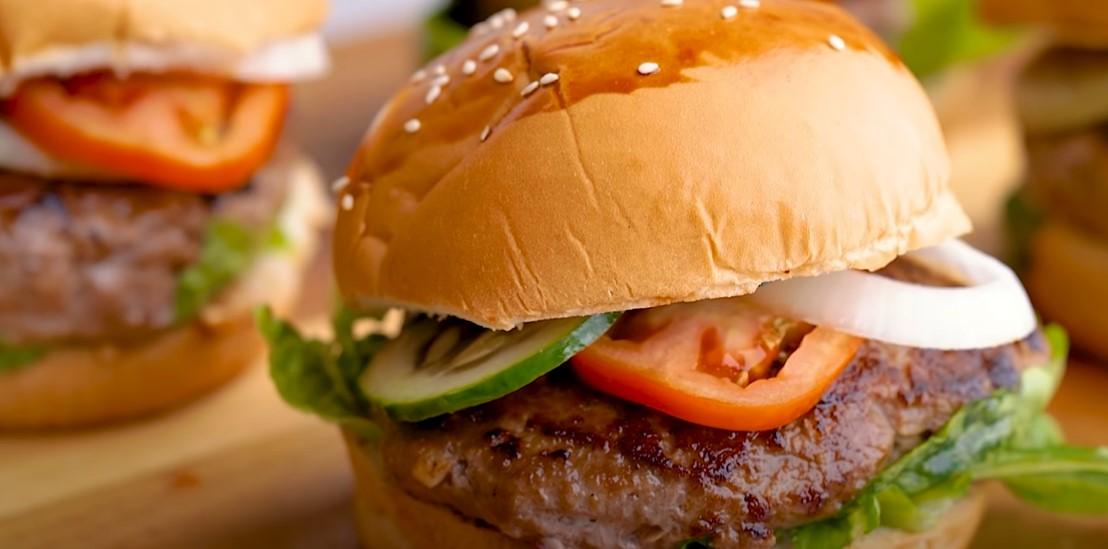 easy beef hamburgers recipe