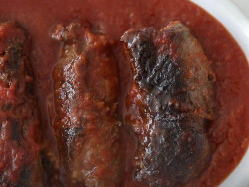 watercress and roast beef involtini recipe