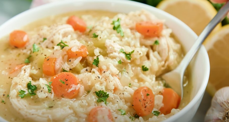 chicken and brown rice soup recipe