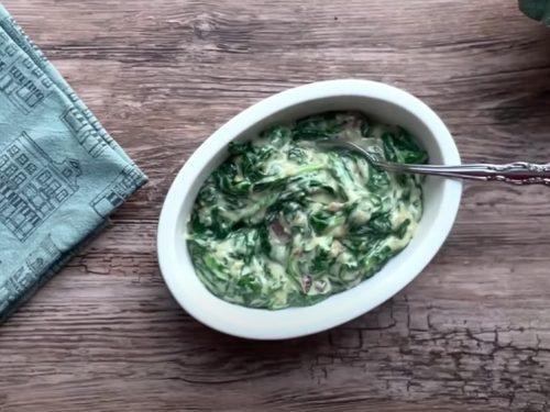 creamed swiss chard recipe