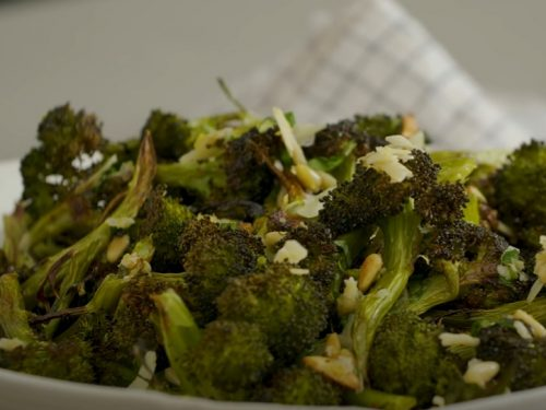 roasted broccoli parmesan recipe