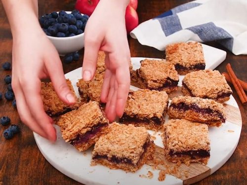 apple blueberry pie bars recipe