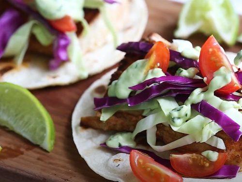 fish tacos with avocado recipe