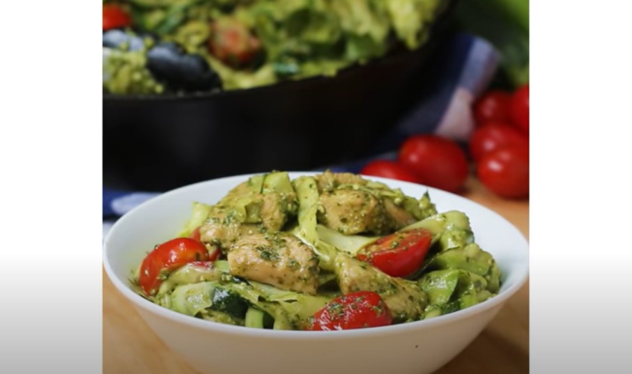 zucchini strand linguine recipe