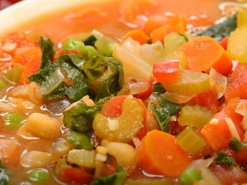 tasty vegetable soup recipe