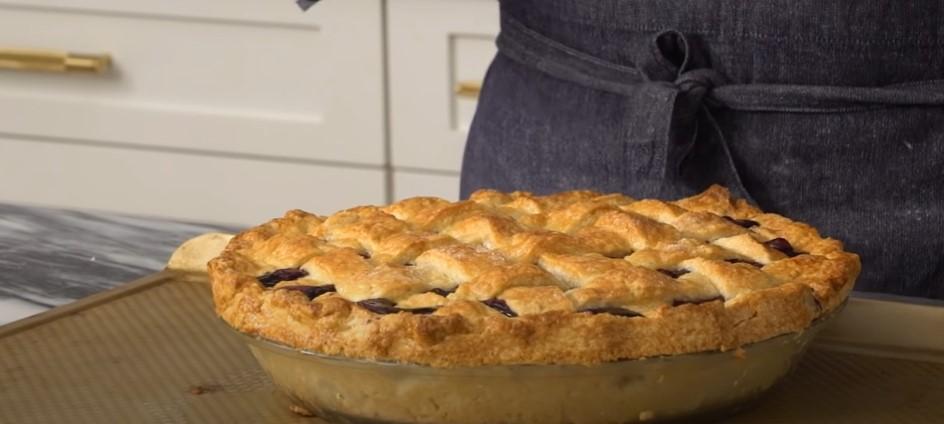 deep-dish blueberry pie recipe