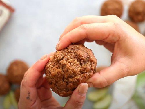 whole wheat apple cinnamon muffins recipe