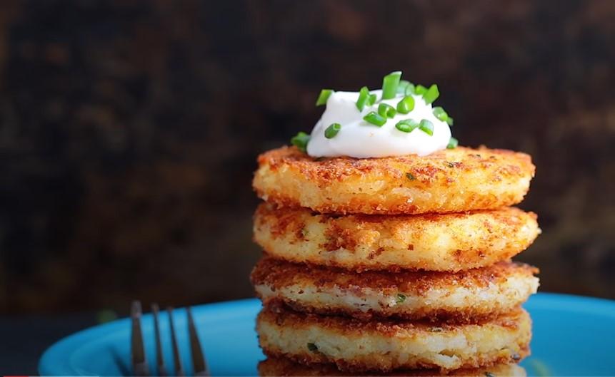 panko crusted mashed potato cakes recipe