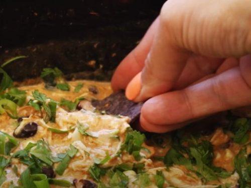 slow cooker chicken enchilada dip recipe