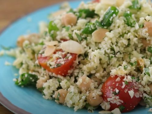 basmati-rice salad with cauliflower and potatoes recipe