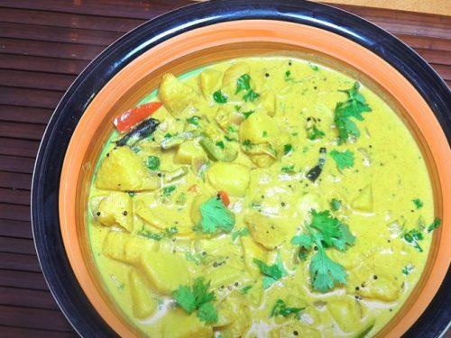 potato curry soup recipe