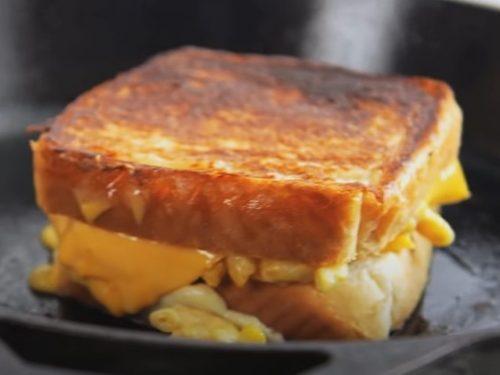 grilled mac & cheese sandwich recipe