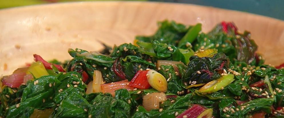 homemade swiss chard recipe