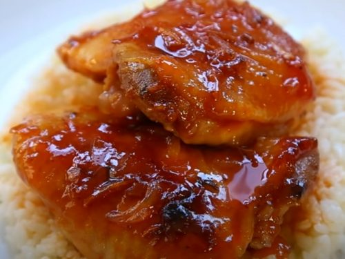 spiced chicken legs with apricots and raisins recipe