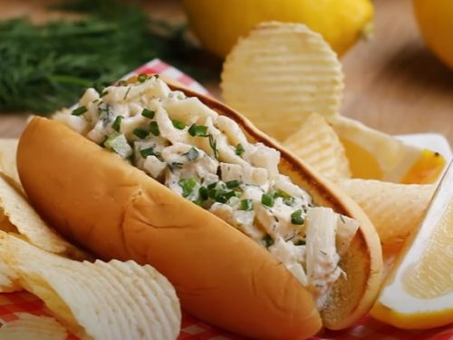 vegetarian lobster rolls recipe