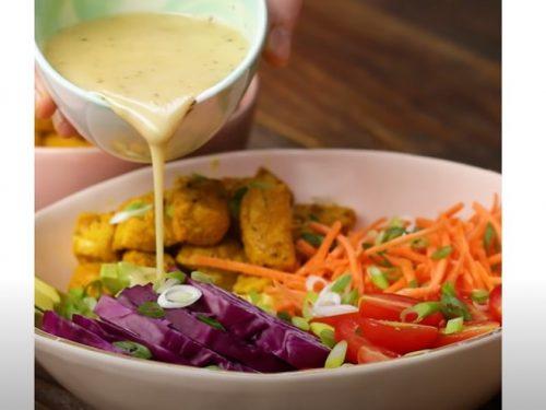 veggie-packed buddha bowl recipe