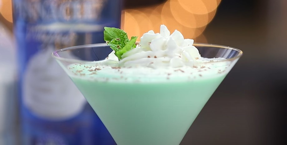 after eight® chocolate mint martini recipe