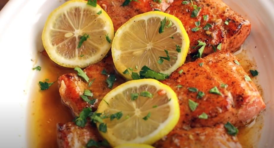 restaurant-style pan-seared salmon recipe