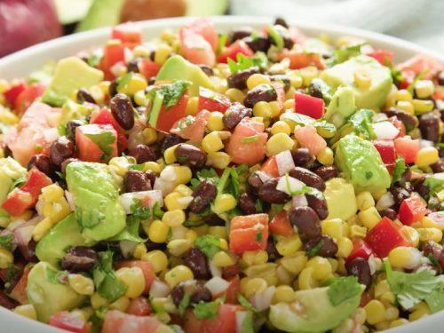 southwestern black bean and mango salad recipe