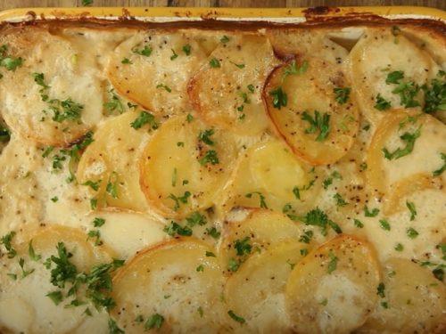 scalloped vegetable bake recipe