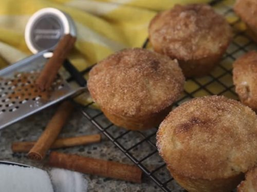 muffadoodles (snickerdoodle muffins) recipe