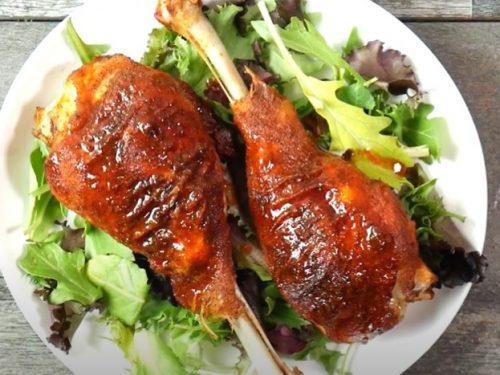 savory turkey legs recipe