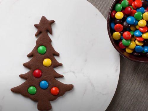gingerbread christmas tree cookies recipe