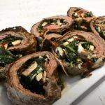 spinach artichoke stuffed flank steak recipe