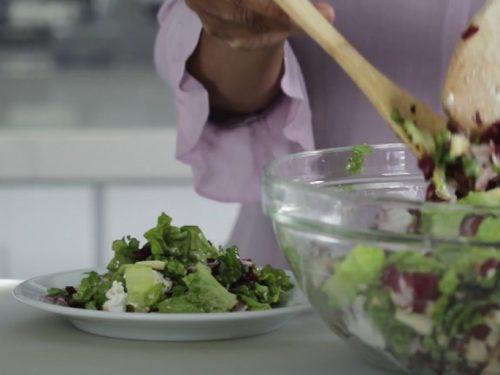radicchio and cranberry salad recipe