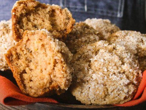 fluffy apple pie muffins recipe
