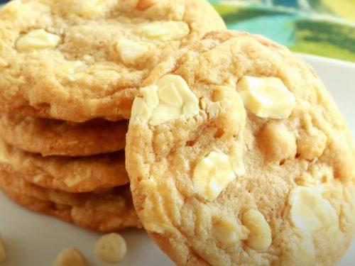White Chocolate Macadamia Pudding Cookies Recipe