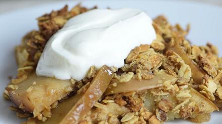 apple crisp with truviar natural sweetener recipe