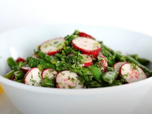 Asparagus Salad with Lemon Vinaigrette Recipe