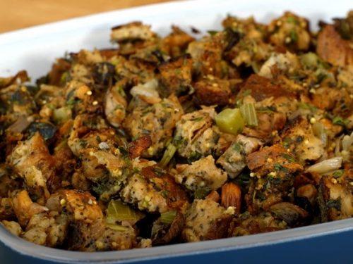 Bagel Mushroom Stuffing Recipe