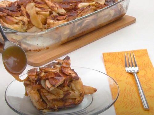 Baked Apple French Toast Recipe