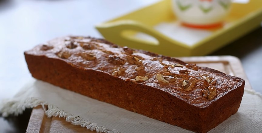 Banana Bread with Coconut and Pecans Recipe