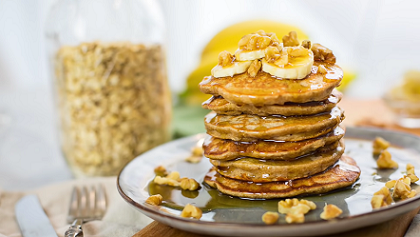 banana oatmeal pancakes recipe