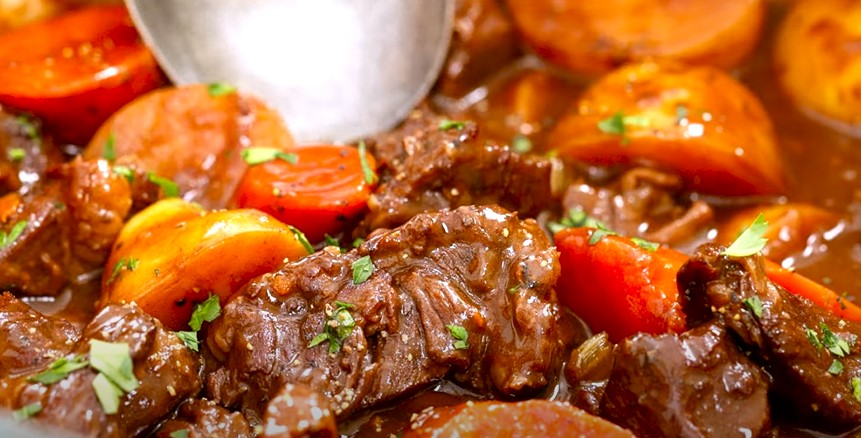 Beef Stew with Carrots and Potatoes Recipe