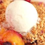 blueberry peach crisp recipe