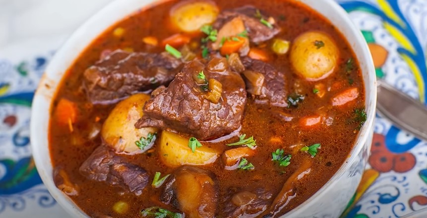 Braised Beef with Shallots and Mushrooms Recipe