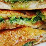 broccoli ham grilled cheese sandwich recipe