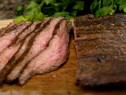 Brown Sugar Garlic Flank Steak Recipe