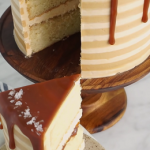 browned butter pumpkin cake with salted caramel frosting recipe