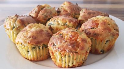 cheddar olive mini muffins recipe