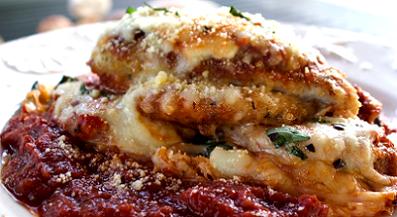 chicken and eggplant parmesan recipe