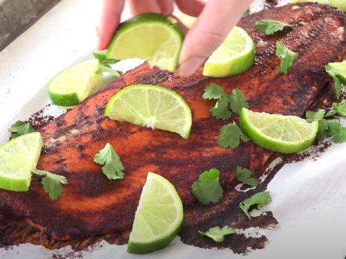 Chile Lime Salmon Recipe